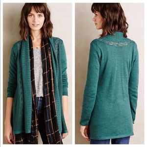 Anthropologie Knitted & Knotted Messina Cardigan